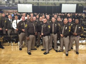 Sheriff's Deputies from Charles County Sworn in as Deputy U.S. Marshals