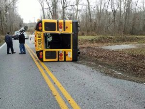 Motor Vehicle Accident Involving a School Bus in Charles County