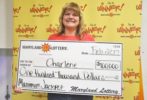 St. Mary's County Woman Wins $100,000 Scratch Off