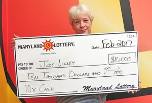 Lusby Grandmother Wins $10,000 Scratch-off Prize