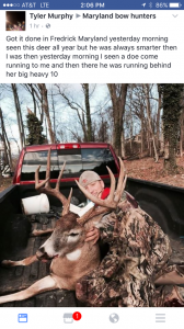 Officers Use Social Media to Track Down Suspected Deer Poachers