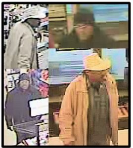 Sheriff's Office Seeking the Public's Assistance in Locating Two Theft Suspects