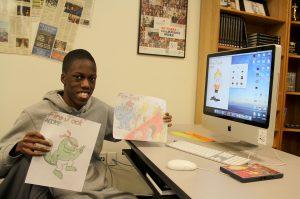 Graphic Design Student Chosen for Disney Dreamers Academy