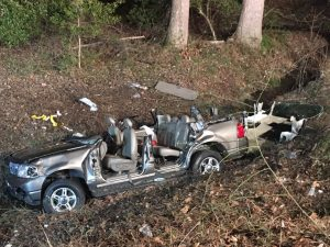 Five Injured in Motor Vehicle Accident in Newburg