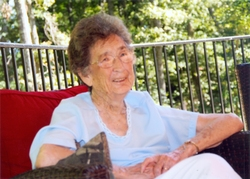 Ruth Margaret Young, 95