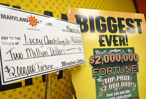Charles County Man Wins $2,000,000 Top Prize on Scratch Off