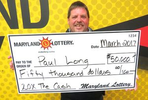 Mechanicsville Man Wins $50,000 Top-Prize Scratch-Off at Burchmart