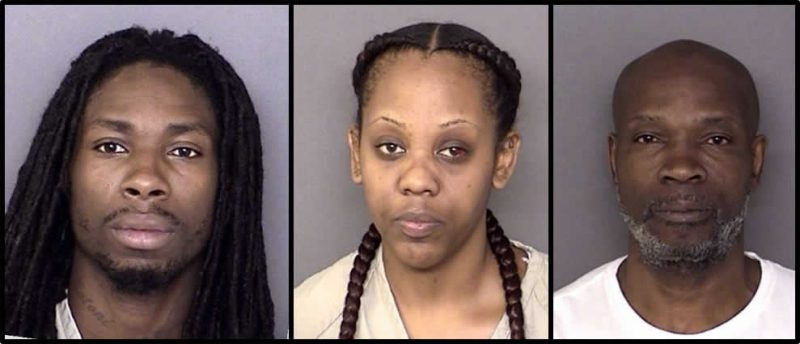 Three Charged with Distribution of Drugs After Raid on Lexington Park Home