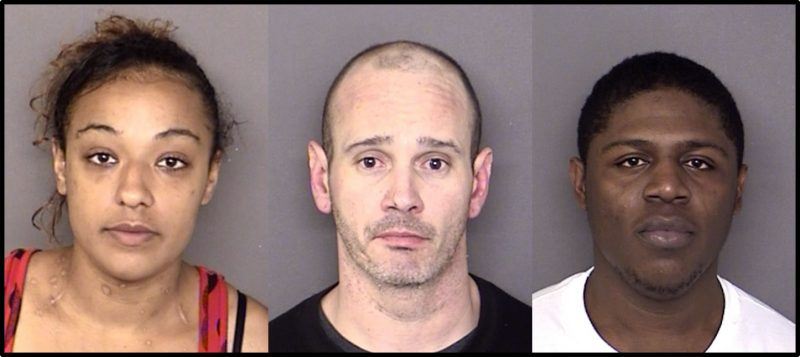 Three Indicted and Arrested on Drug Charges in St. Mary's County