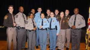 Charles County Sheriff's Office Welcomes Six New Correctional Officers