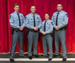 St. Mary's County Sheriff's Office Welcomes Four New Deputies