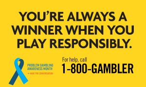 Maryland Lottery and Gaming Supports Problem Gambling Awareness Month