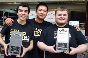 CSM Robotics Team Qualifies for World Championship