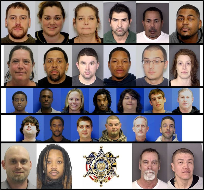 St. Mary's County Sheriff's Office DUI Arrests for January and February 2017