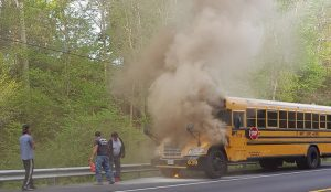 No Injuries Reported in Leonardtown School Bus Fire