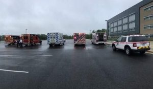 Several Students Became ill at St. Charles High School Today, 3 Taken to Hospital