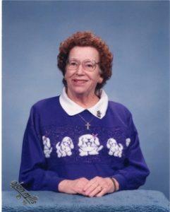 Hazel Marie Everard Martin, 90