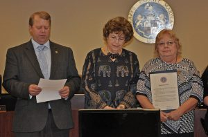 Commissioners Take a Stand Against Dating Violence