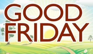 Calvert County Announces Good Friday Schedule