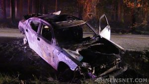UPDATE: Burned Out Stolen Vehicle & Large Brush Fire in Dameron Under Investigation