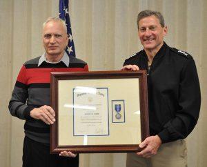 Veteran Advocate Receives Navy Superior Civilian Service Award