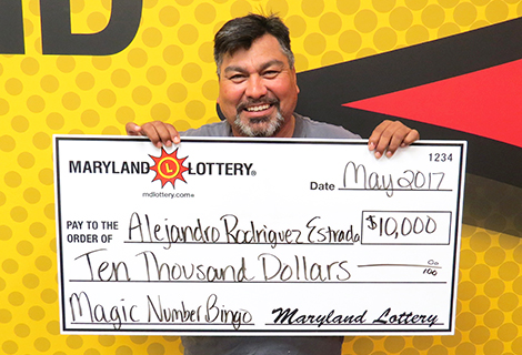 This Fort Washington construction supervisor enjoyed the build up to his $10,000 win.