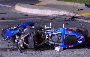 VIDEO: Motorcycle Accident in Great Mills Sends Operator to Trauma Center