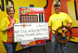 Charles County Couple Wins $30,000 on Scratch-Off at Ole McDonnell's Country Store in Newburg