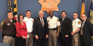 Hoyer Meets with Representatives from the Charles County Sheriff's Office