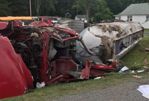 Tractor Trailer Accident in Prince Frederick Under Investigation