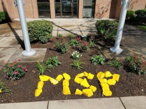 Maryland State Police Leonardtown Barrack Receives a Little Gardening