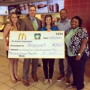 Sagepoint Receives $1,256.43 Donation From Welburn Organization