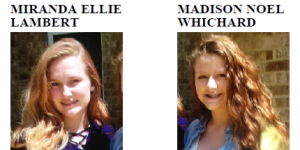 UPDATE: Missing Teenaged Girls From Calvert County Located in West Virginia