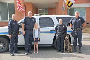 St. Mary's County Sheriff's Office K-9 Unit Handlers Earn Certifications