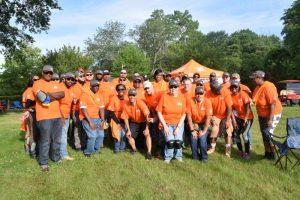 Charlotte Hall Veterans Home Receives Home Depot Foundation Landscape Makeover