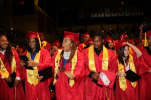 North Point Seniors Celebrate Successes at Graduation