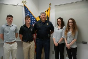 St. Mary's County Sheriff's Office Welcomes Summer Interns
