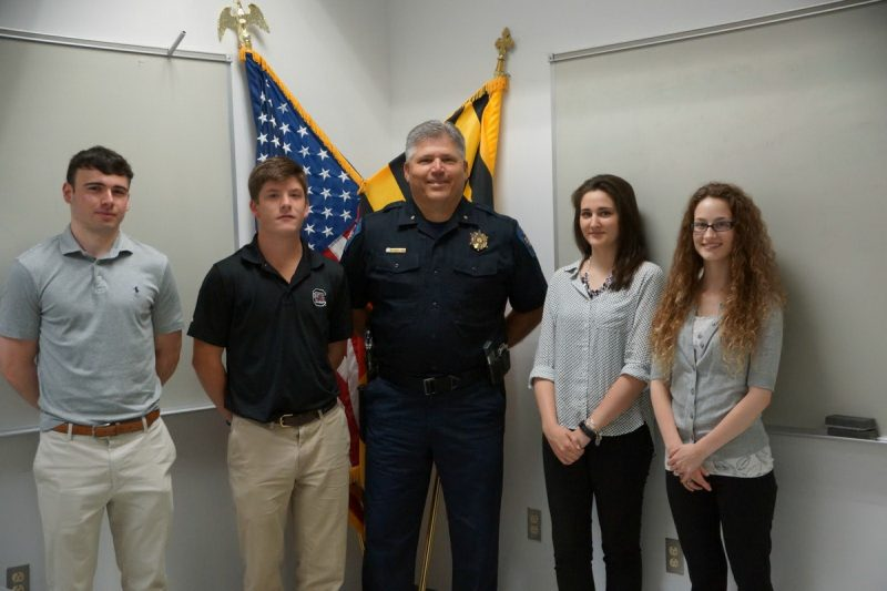 St. Mary's County Sheriff's Office Welcomes Summer Interns ...