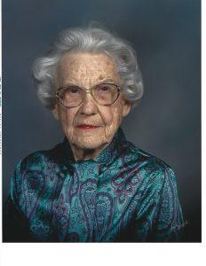 "Dorothy ""Dots"" Vivian Oursler, 102"