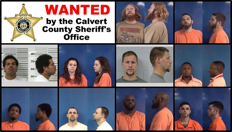 WANTED – Calvert County Sheriff's Office 7/8/2017