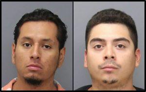 Bryan Javier Aquice, 24, of Arlington, VA and Christian Humberto Alvarez, 25, of Dale City, VA