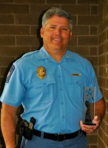 Sheriff Tim Cameron selected Crisis Intervention Teams Leader of the Year for the Southern Maryland Region