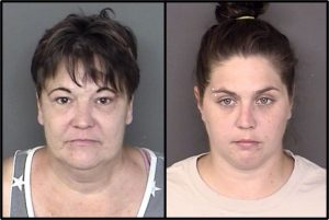 Mother/Daughter Arrested After Caught Doing Drugs with Two Children in Car