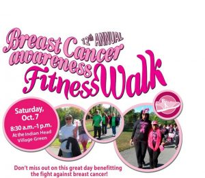12th Annual Breast Cancer Walk Set for Oct. 7