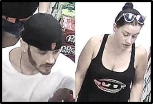 Police Request Public's Help in Identifying Theft Suspects