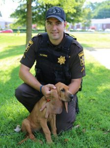 Charles County Sheriff's Office Welcomes New Addition to K9 Unit