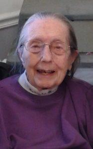 Ellen P. Blair, 93