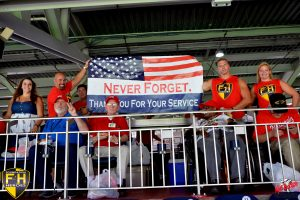Foundation 4 Heroes' 2nd Annual Veteran's Trip to Nats Park is a Hit