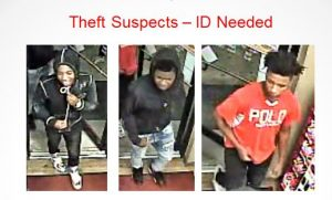 St. Mary's County Sheriff's Office Needs Help Identifying Theft Suspects
