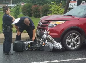 Motor Vehicle Accident Sends Scooter Operator to Trauma Center